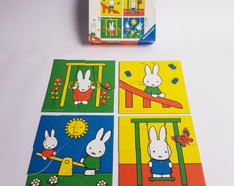 Miffy puzzle, Ravensburg, otto maier