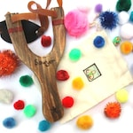 Personalized Sling Shot - Gifts for Kids - Outdoor Sports Toys - Classic Wooden Toys - Waldorf Classic Game - Montessori Toys
