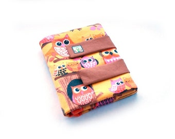 Flannel Board - Felt Board - Travel Game - Quiet Book - Quiet Toy - Boy and Girl Toy - Owls