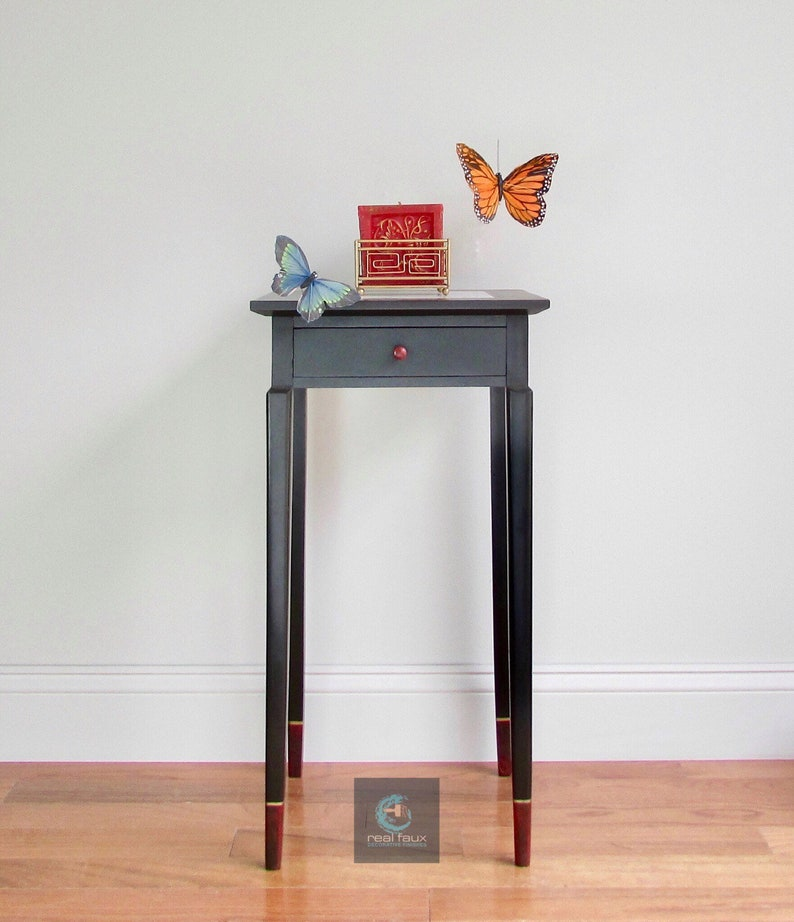Contemporary Side Table Custom Table Art Furniture image 0