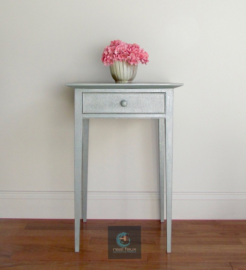 Side Table Nightstand Accent Table Occassional Hall image 1