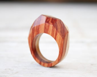 Wood ring for men and woman, wooden wedding handmade ring, wooden jewelry, engagement ring band, handmade wooden ring jewels, natural wood