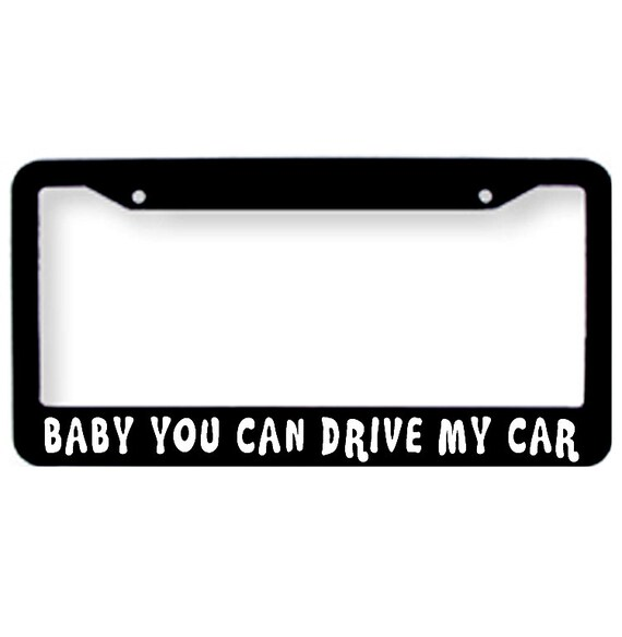 RATHER BE IN SAVASANA YOGA Metal License Plate Frame Tag Holder