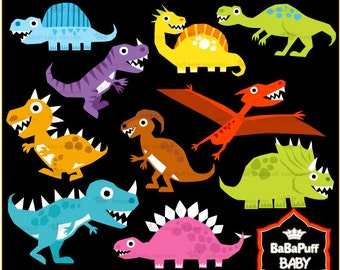 Dinosaur Clip Art ---- Personal and Small Commercial Use ---- BB 0354
