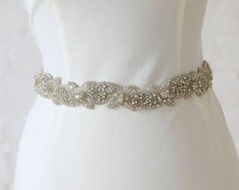 "Jaxie ""Ivy"" Bridal Belt"