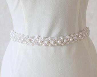 """Jaxie """"Ash"""" Bridal Belt"""