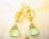 Spring Garland Natural Gemstone 14Kt