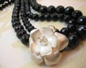 Gala Rose Onyx Black Onyx