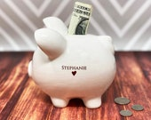 Piggy Bank for Boys and Girls, Baptism Gift, Baby Gift, First Communion Gift, Personalized Bank, Great Gift for a Child