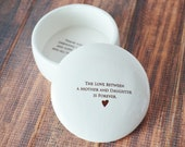 Unique Mother of the Bride Gift -SHIPS FAST - The Love Between a Mother and Daughter is Forever - Keepsake Box
