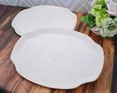 Unique Parent Wedding Gift -  Set of Large Personalized Wedding Platters