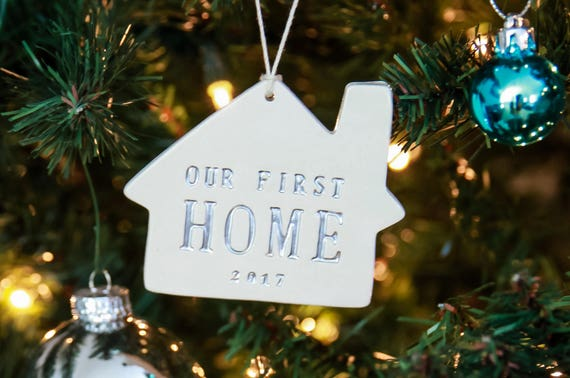 Our First Home Christmas Ornament.First Home Christmas Ornament Our First Home 2019 Christmas Gift Housewarming Gift Gift For New Homeowners