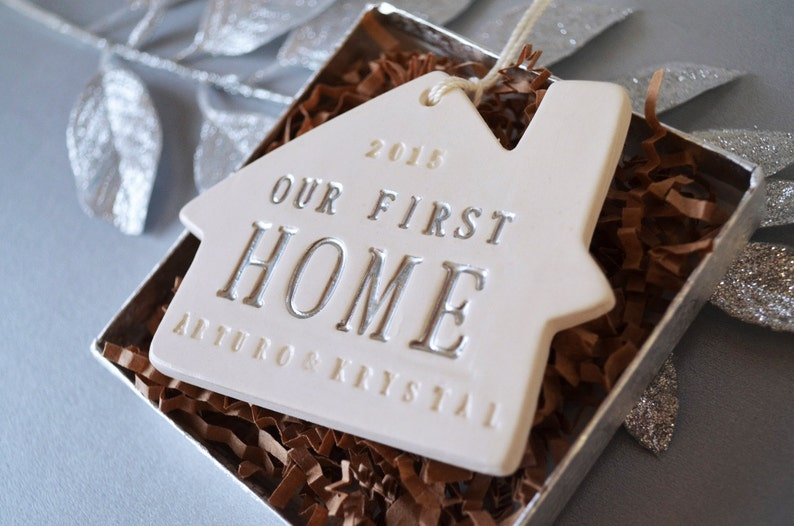 personalized christmas ornament our first home 2020 our