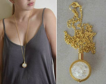 Unique handmade contemporary jewelry by closeupjewelry on etsy glass jewelry boho jewelry glass pendant necklace statement necklace minimalist necklace pendant necklace gold handmade jewelry mozeypictures Images