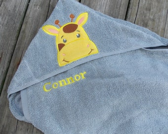 Infant Hooded Towel Personalized Hooded Towel Baby Shower Gift Bath Towel Personalized Bath Towel Personalized Gift for Baby Hooded Towel