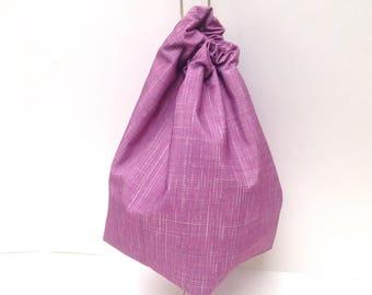 Waterproof Wash Bag Project Bag Lilac