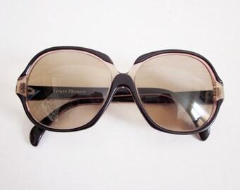 59424e64e2e6f7 Vintage french frame glasses LOUIS FERAUD Paris 1970s, Sunglasses Lunettes  soleil, France, Fashion, Mode