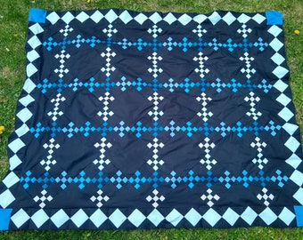 Blueberry Buckle, Quilt Pattern, Fast, Easy