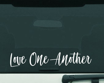 Love One Another Vinyl Decal