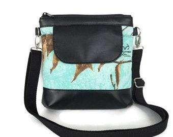 Realtree Mint Camo Crossbody Bag - Crossbody Purse  - Mint Camouflage Cross Body bag - Camo purse -