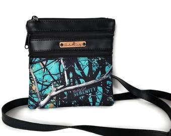 Muddy Girl Serenity Crossbody Bag -  Small Cross Body bag - Crossbody Purse - Serenity Bag - Camo purse - Muddy Girl Serentity Camo