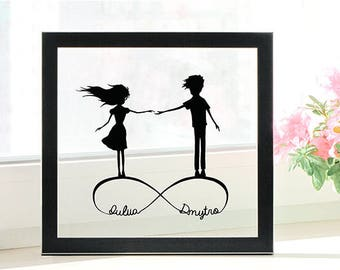 Wedding Gift for Couple Personalized- Wedding Gift for Husband- Wedding Gift for Bride from Groom- Wedding Gift for Bride and Groom