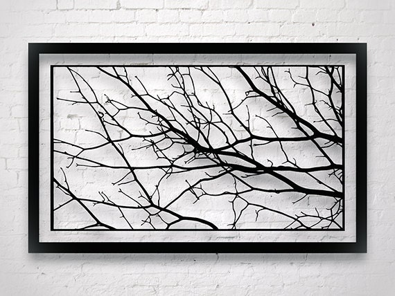 Large Tree Branch Decor Modern Wall Art Luxury Wall Art