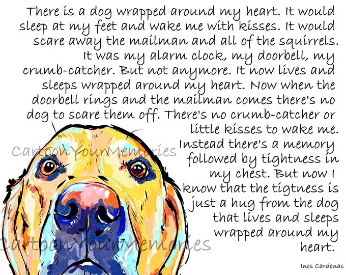 yellow Lab loss poem
