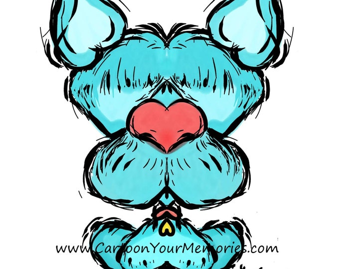 How many hearts does it take to draw a Terrier