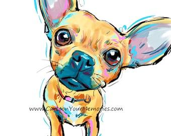 Chihuahua Art Print