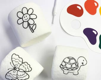 Paint Your Own Marshmallow Favors. Coloring Book Favors. Edible Guest Takeaways. Art Party Favor. Garden Party. Childrens Activity. Wedding