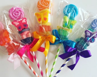 Butterfly Lollipop. Marshmallow Pop. Candy Kabob. Garden Party. Fun Spring Favors. Camp. Bunk Gift. Kandy Kabob. Rainbow Party Favors