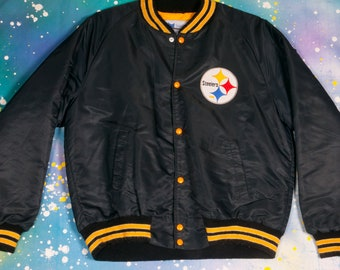 2f20fe5d9 Pittsburgh STEELERS Football Starter Jacket Size L