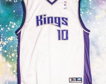 Sacramento KINGS Basketball Jersey  10 Bibby Size XXL 7957934ae