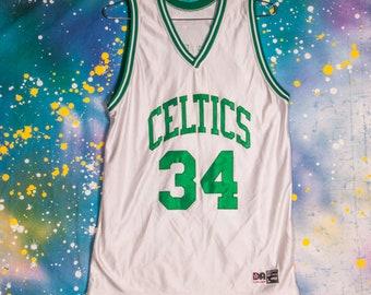 b0a2f0b14 Boston CELTICS Sports Jersey  34 Pierce Size L