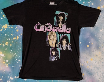 Cinderella Rock And Roll Forever Womans Tank Sleep Shirt Rock Music