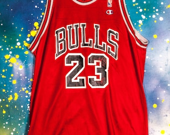 eb4f8af77fc8 Chicago BULLS  23 Jordan Basketball Jersey Size M