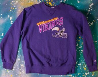 the latest de379 1969a Minnesota vikings sweatshirt | Etsy