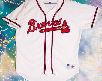 reputable site fd008 52229 italy atlanta braves pinstripe jersey 189f9 81d11