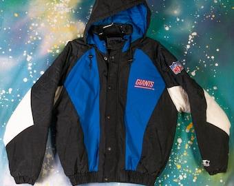 buy popular e91c8 37222 Giants starter jackets   Etsy