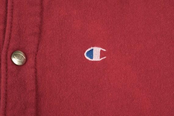 Vintage Champion button Sweatshirt - image 4