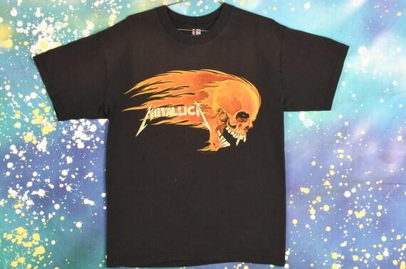 vintage 1994 METALLICA Pushead T Shirt