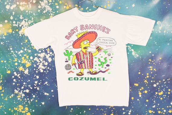 Vintage Bart Simpson Bootleg T-Shirt