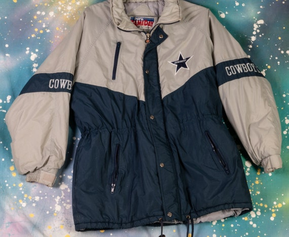Dallas COWBOYS GameDay NFL STARTER Style Jacket Si