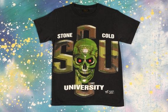 vintage 90s STONE COLD Steve Austin 3:16 WWF T Shi