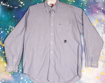 Tommy HILFIGER Dress Shirt Size M
