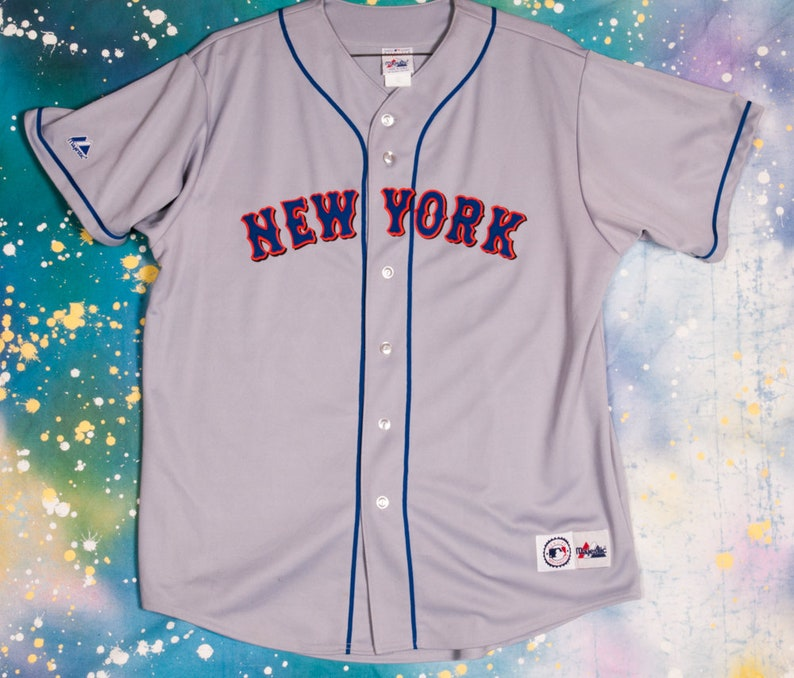 new york 87c99 bac5b New York METS Baseball Jersey Size XXL
