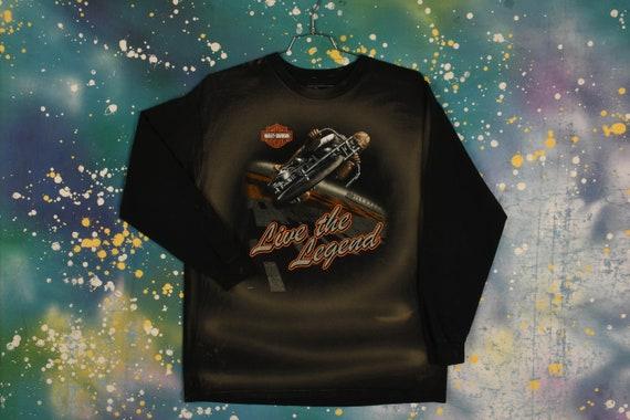 vintage HARLEY DAVIDSON Long Sleeve T Shirt