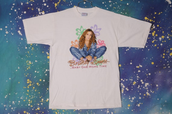 BRITNEY SPEARS Baby One More Time Rock T-Shirt Siz