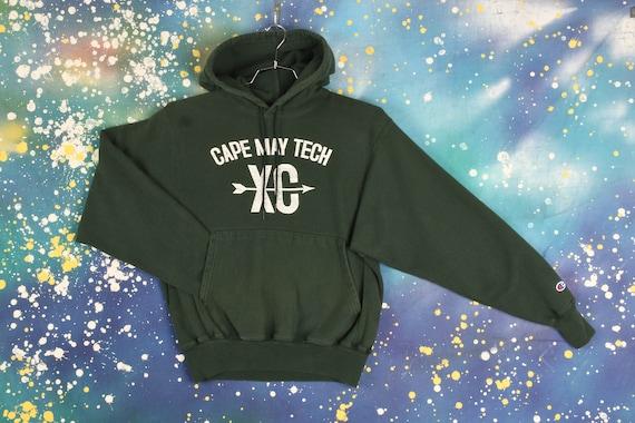 Champion Cape May Tech High School hooded Sweatshi